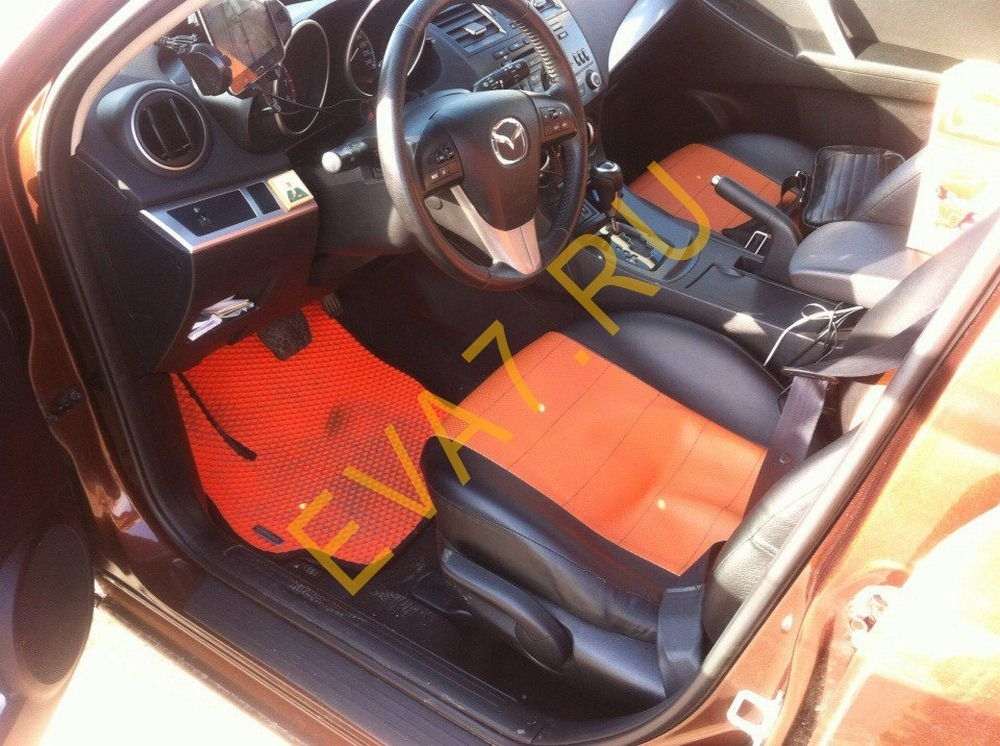 Коврики в салон Mazda 3 (BL)рестайлинг седан 2011-2013