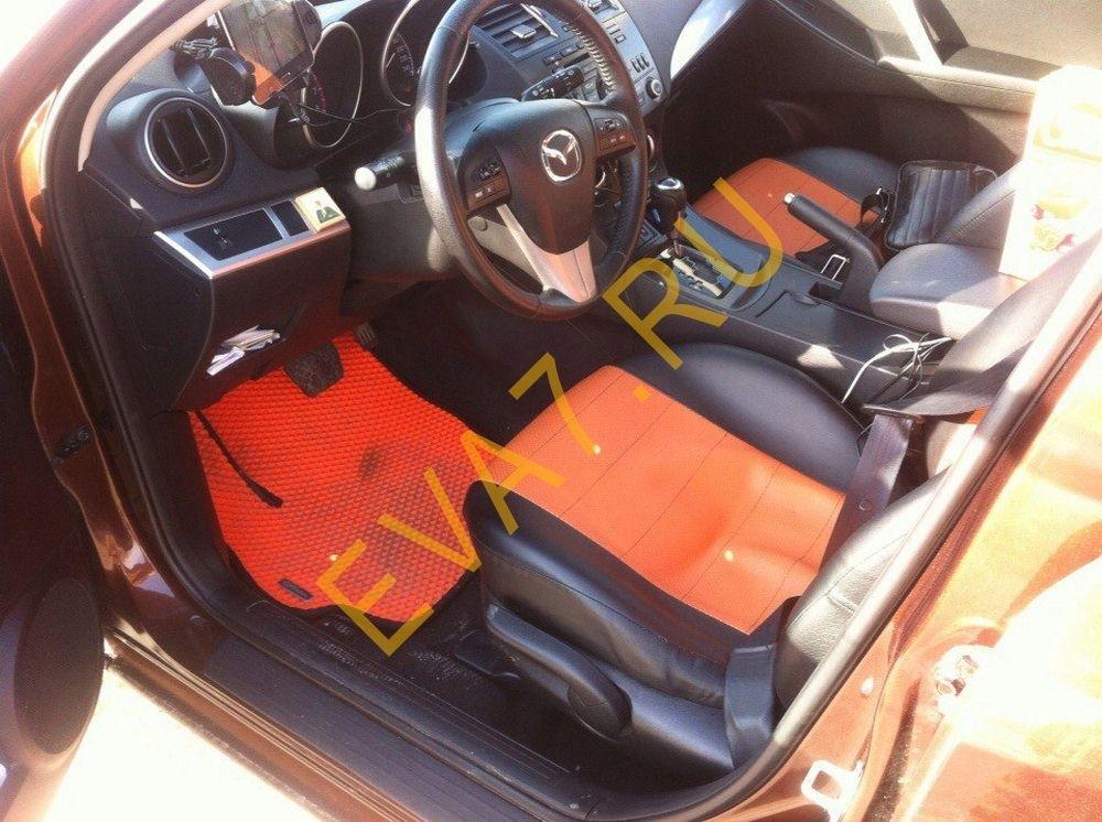 Коврики в салон Mazda 3 (BL)рестайлинг хэтчбек 2011-2013