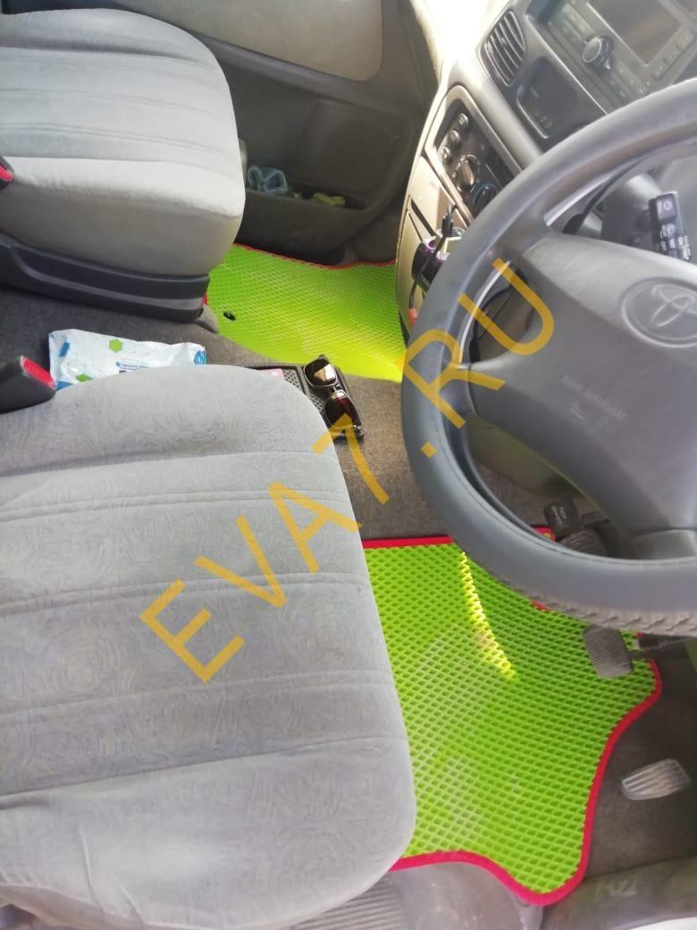 Коврики в салон Toyota Lite Ace Noah SR50 рестайлинг правый руль 7 мест 1998-2007