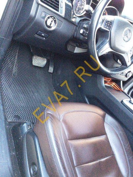 Коврики в салон Mercedes GLE Coupe (C292) 2015-2019