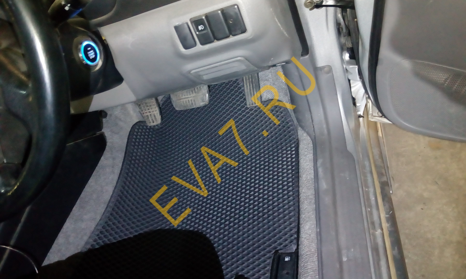 Коврики в салон Subaru Impreza II правый руль 2000-2002