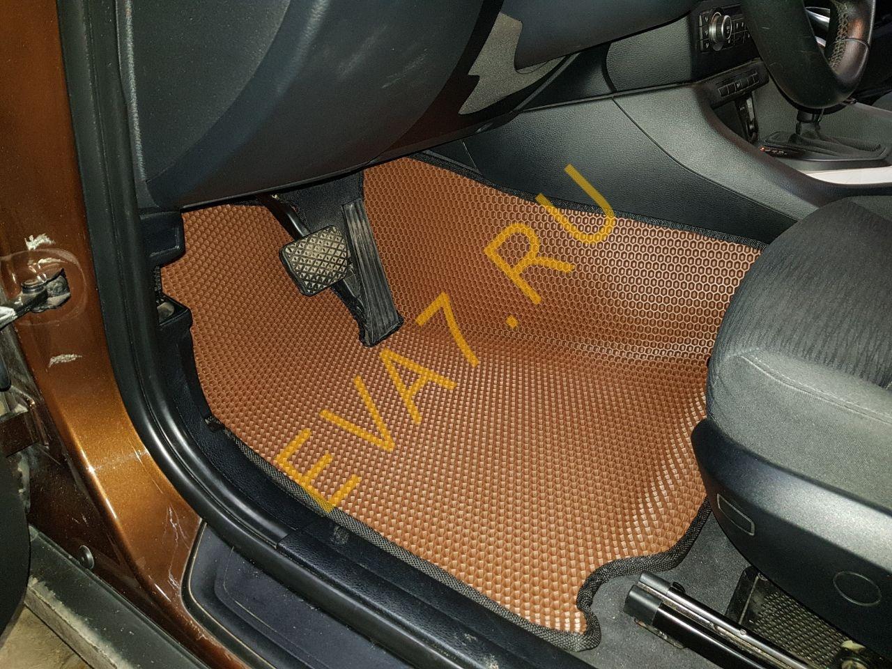 Коврики в салон BMW X1 (E84) вариант макси 3D 2009-2015