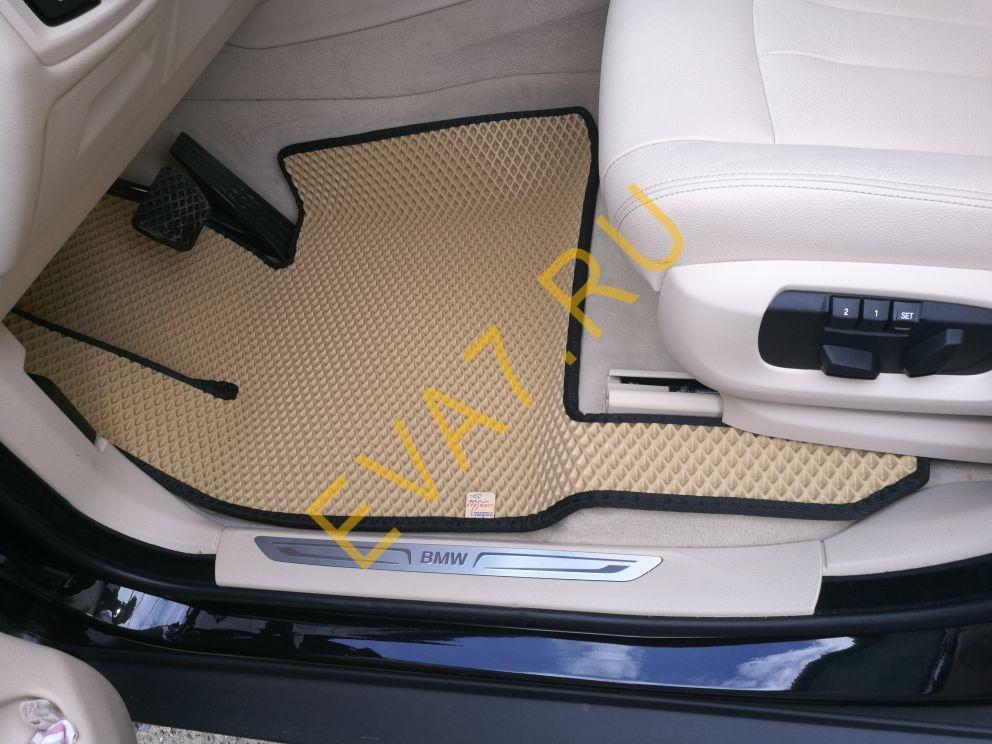 Коврики в салон BMW X5 (F15) вариант макси 3D 2013-2020