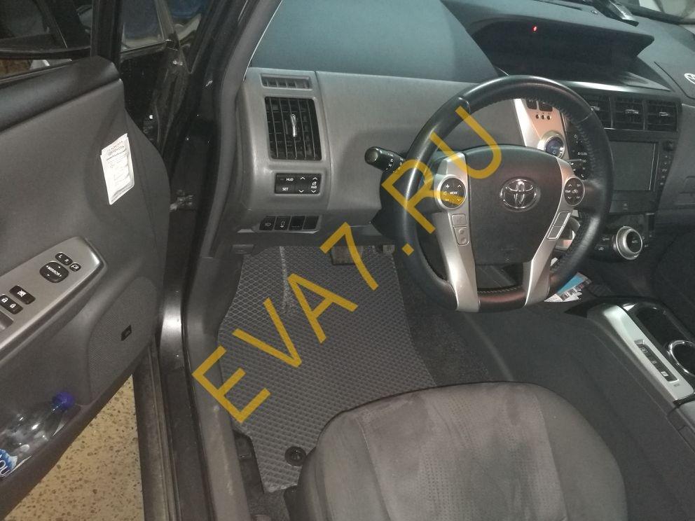 Коврики в салон Toyota Prius (ZVW40) 7 мест 2012-2021