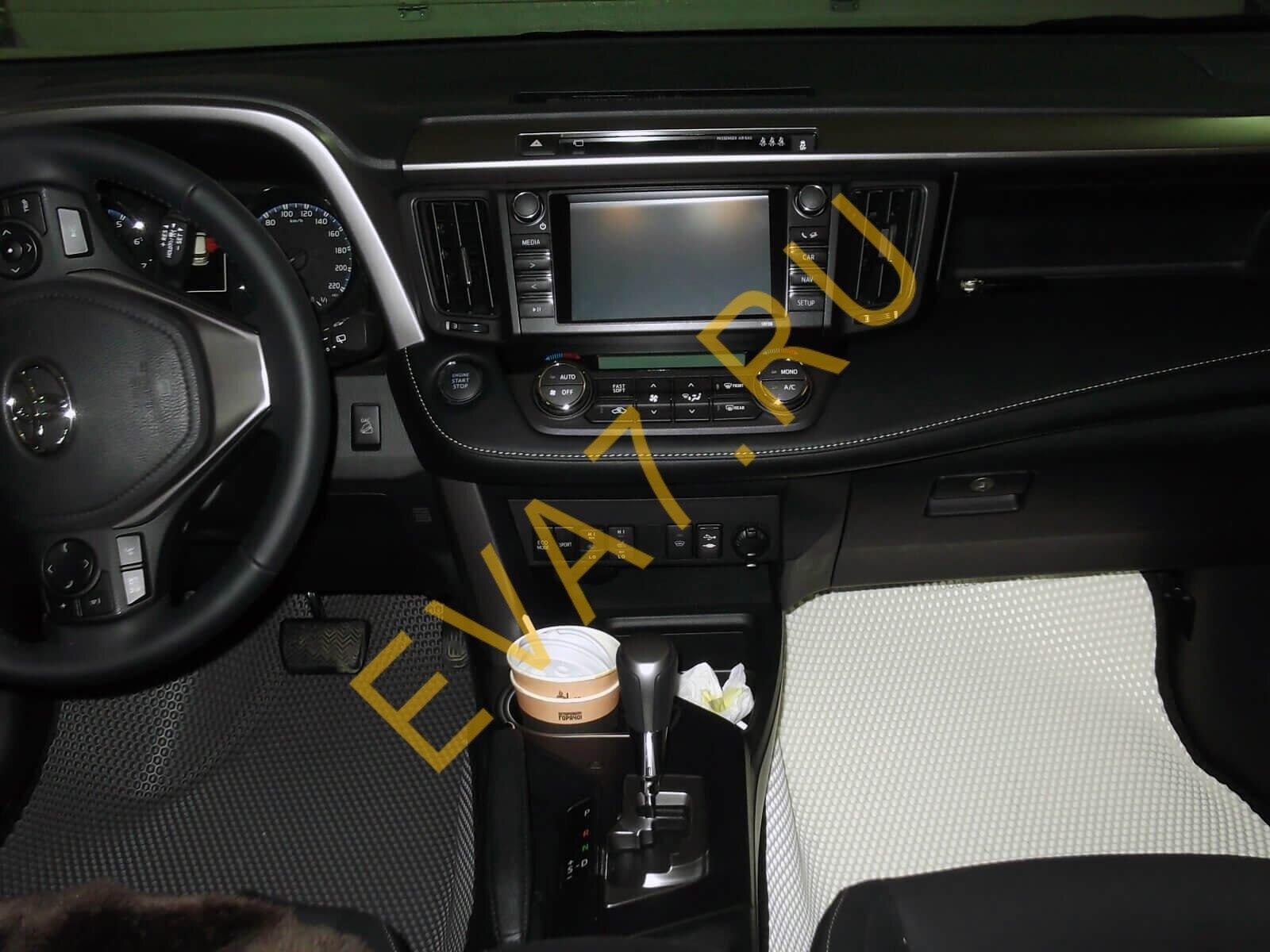 Коврики в салон Toyota RAV 4 IV (CA40) макси 3d 2012-2019