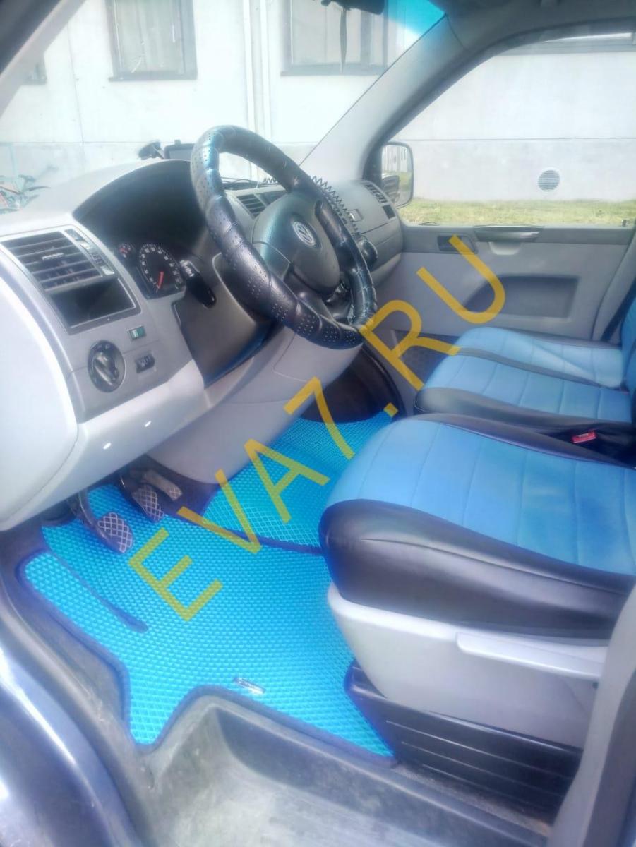 Коврики в салон Volkswagen T5 Caravelle long 2003-2015