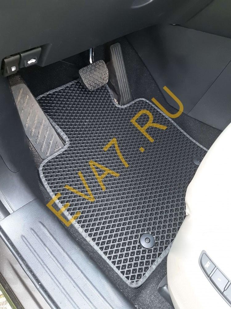 Коврики в салон Mazda CX-9 II 7 мест 2016-2021