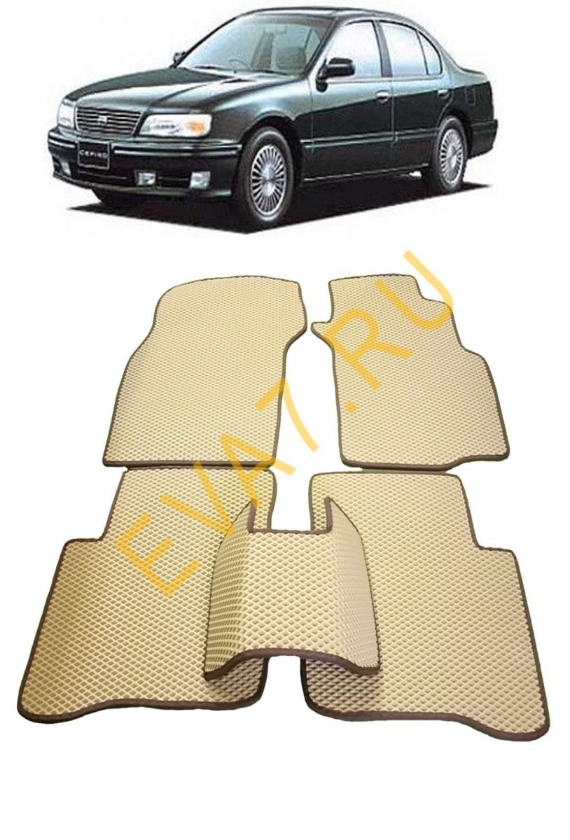 Коврики в салон Nissan Cefiro II правый руль 1994-2000