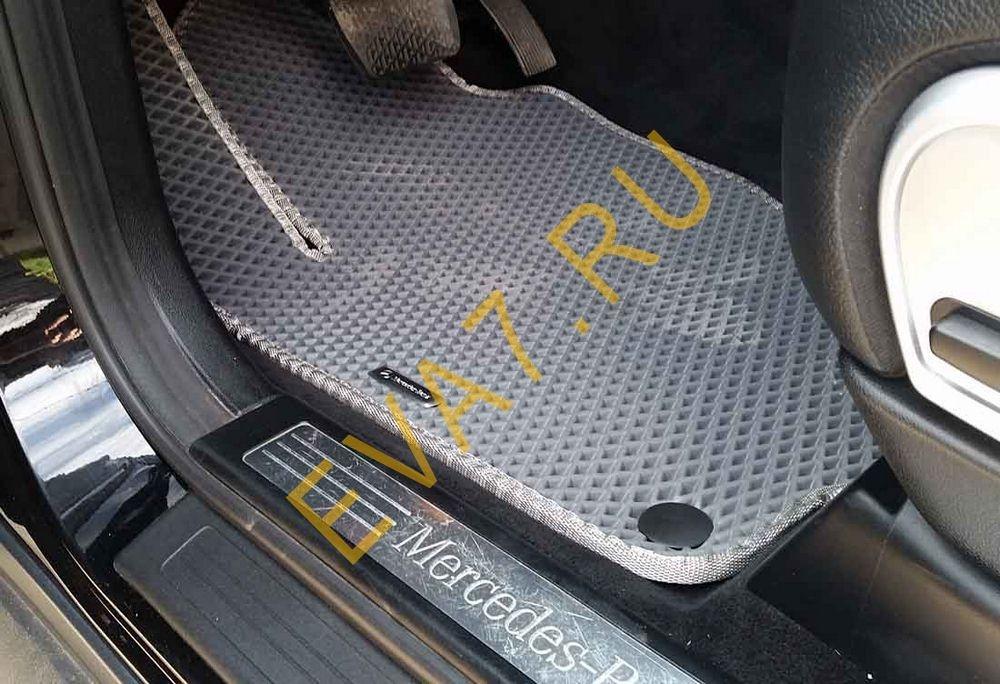 Коврики в салон Mercedes GL-класс I (X164) 7 мест 2006-2012