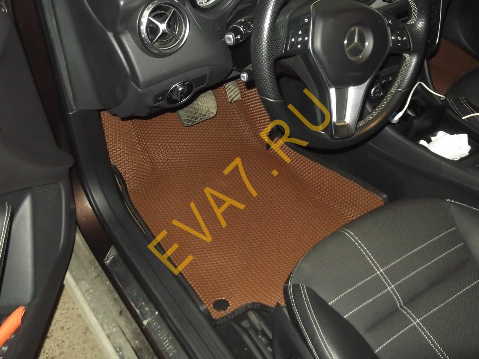 Коврики в салон Mercedes GLA-класс 200 (X156) макси 3d 2013-2020