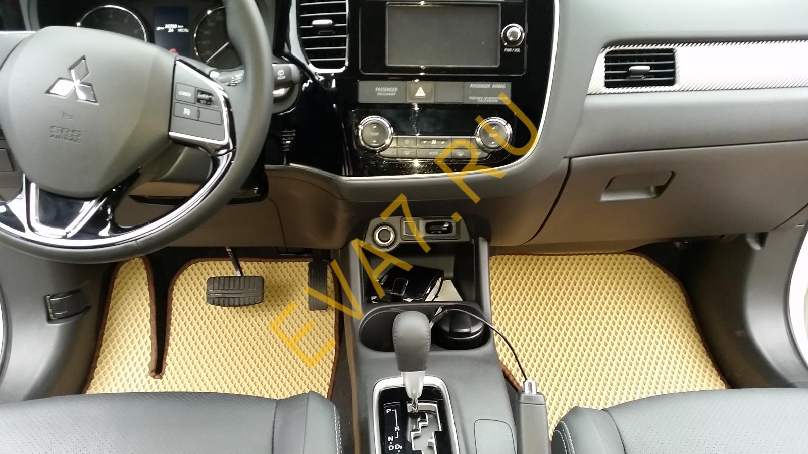 Коврики в салон Mitsubishi Outlander III 2012-2021