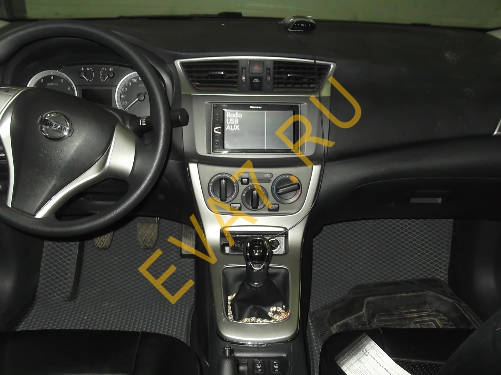Коврики в салон Nissan Sentra (B17) 2012-2021