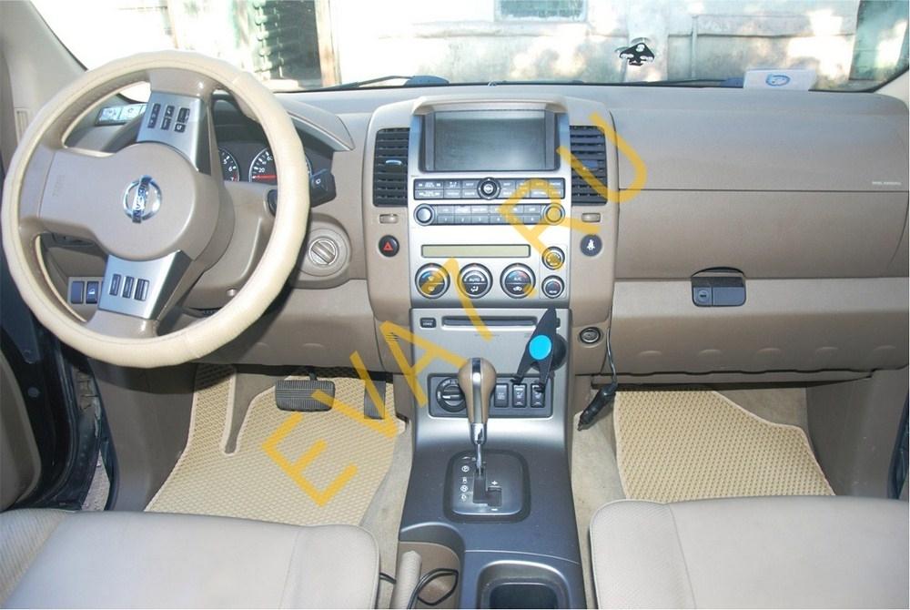 Коврики в салон Nissan Pathfinder III (R51 рестайлинг) 5 мест 2010-2014