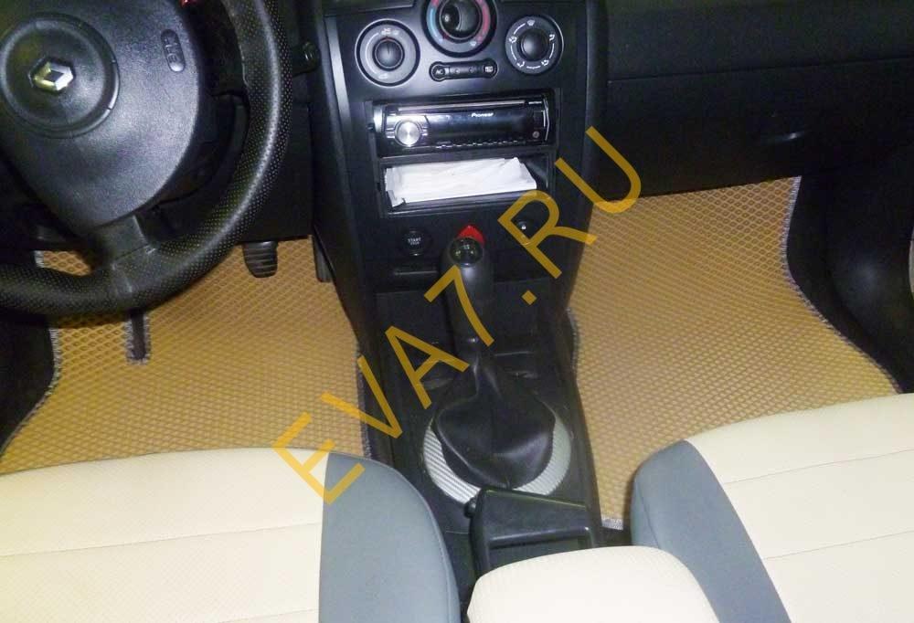 Коврики в салон Renault Megane III 5дв. седан 2008-2016