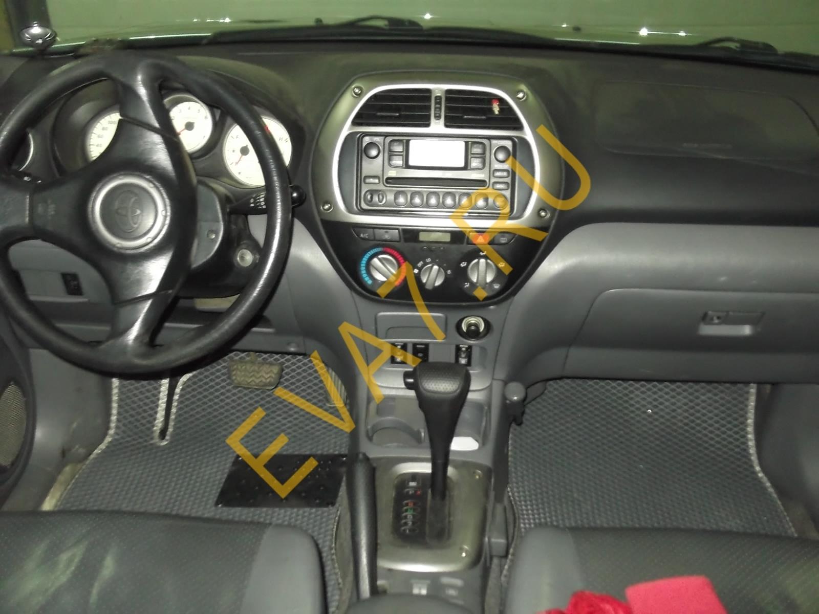 Коврики в салон Toyota RAV 4 II (CA20) 5дв. 2000-2005