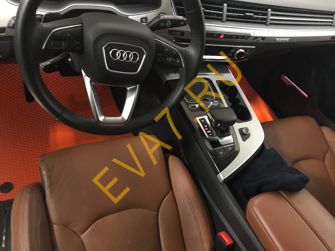Коврики в салон Audi Q7 II 2015-2021