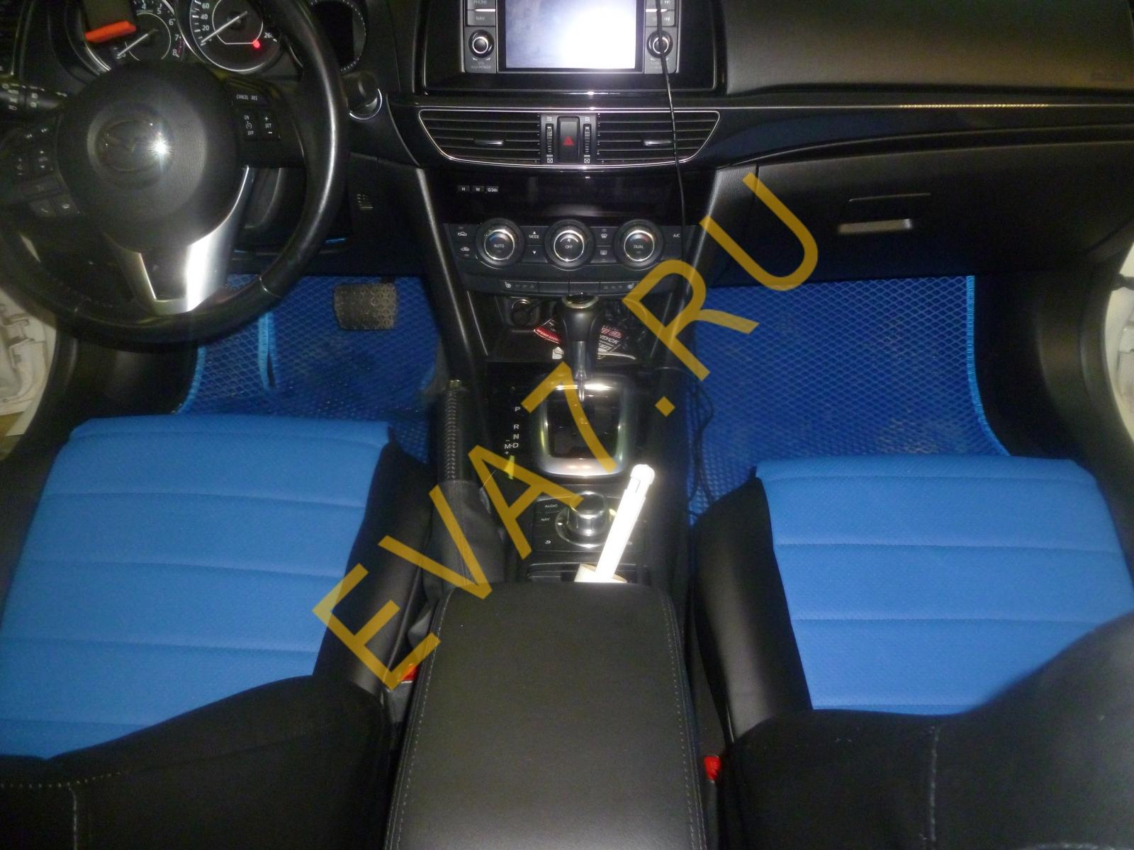 Коврики в салон Mazda 6 III (GJ) Рестайлинг 2015-2021