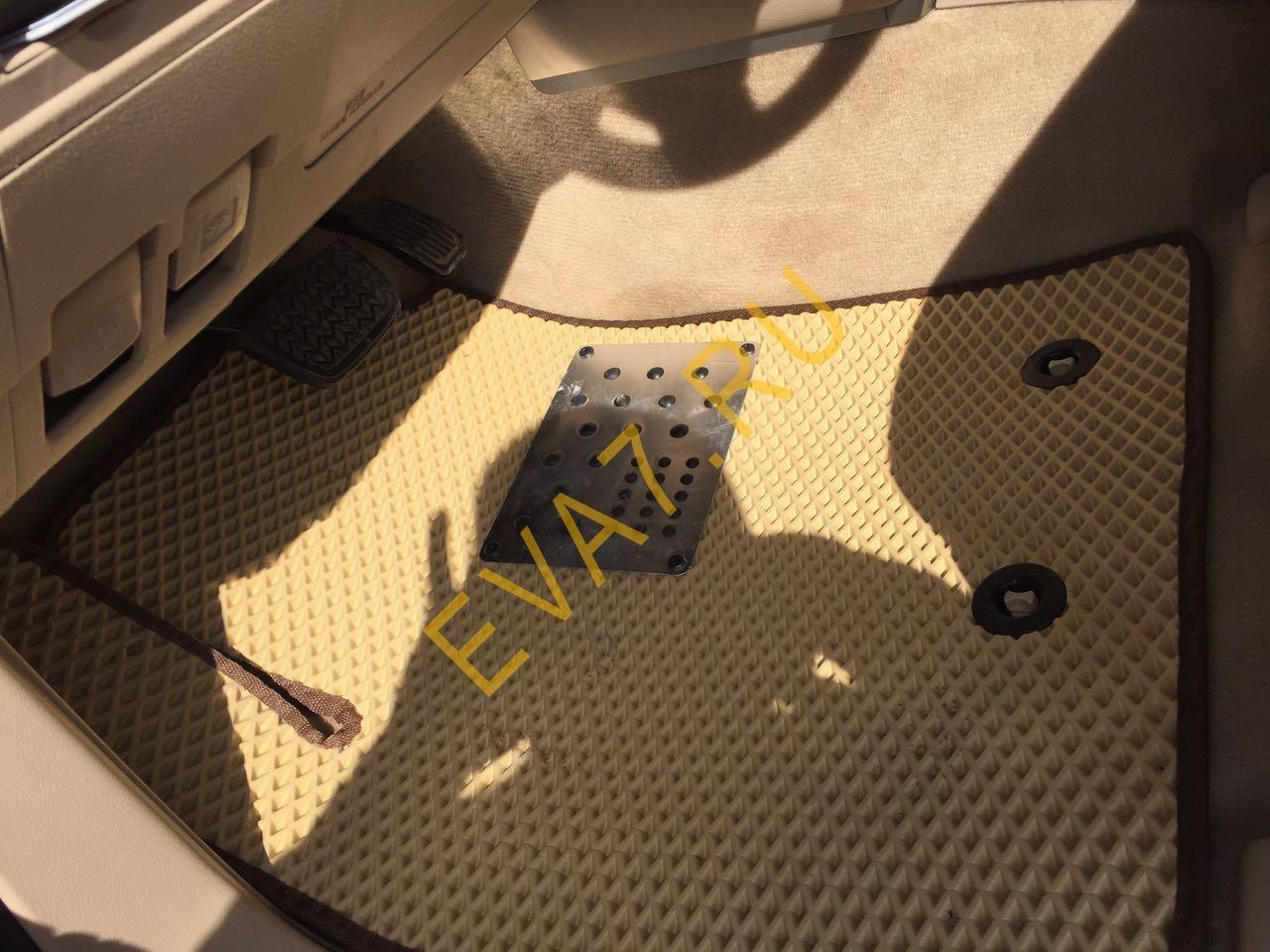 Коврики в салон Toyota Land Cruiser 200 2012-2020
