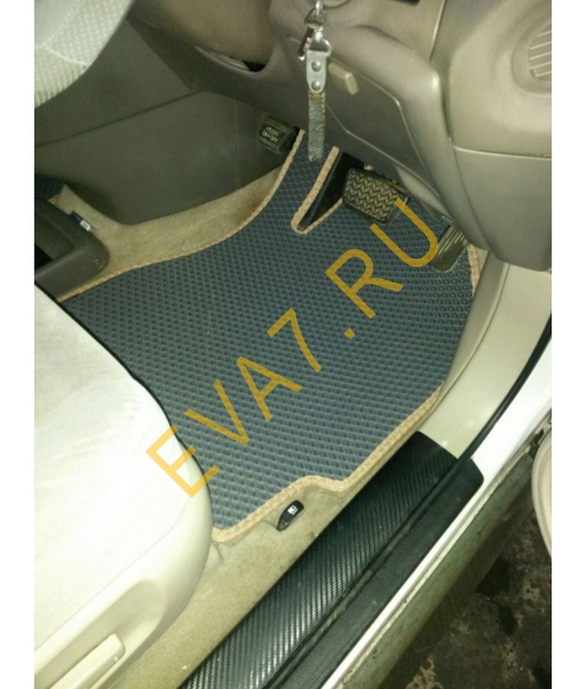 Коврики в салон Toyota Harrier правый руль 1997-2002