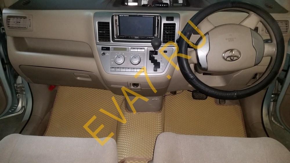 Коврики в салон Toyota Raum II правый руль 2003-2011