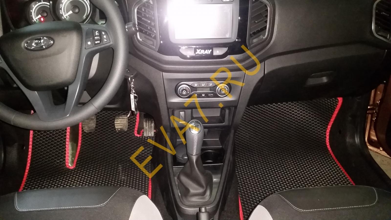 Коврики в салон Lada XRAY 2015-2021