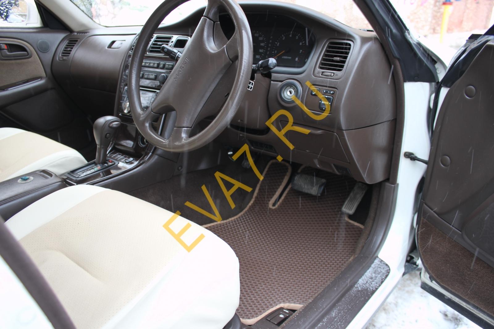 Коврики в салон Toyota Mark II (X90) правый руль 1992-1996
