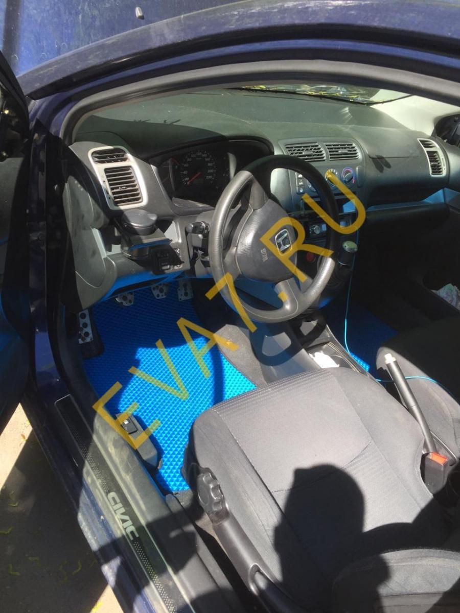 Коврики в салон HondaCivic VII 3дв. хэтчбек 2000-2005