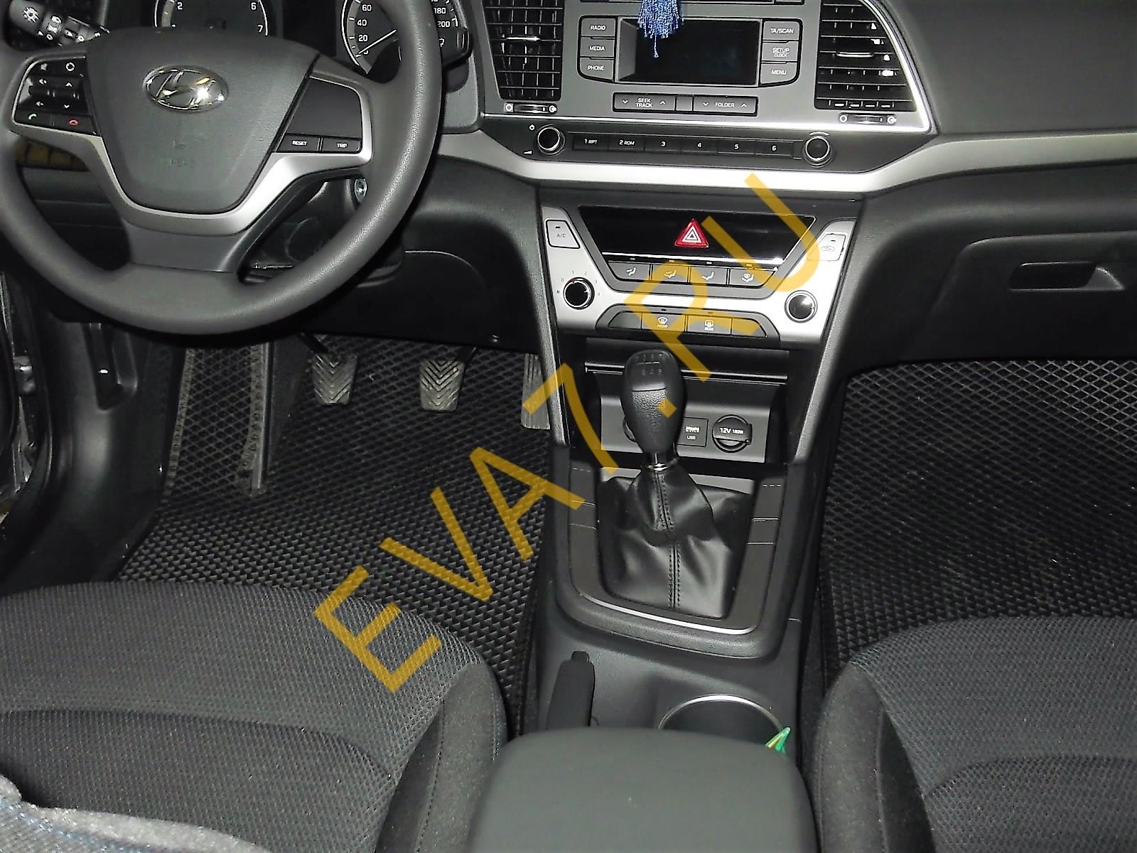 Коврики в салон Hyundai Elantra седан VI 2015-2021