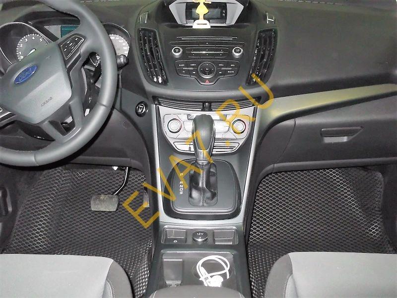 Коврики в салон Ford Kuga II ковры макси 3D 2013-2021