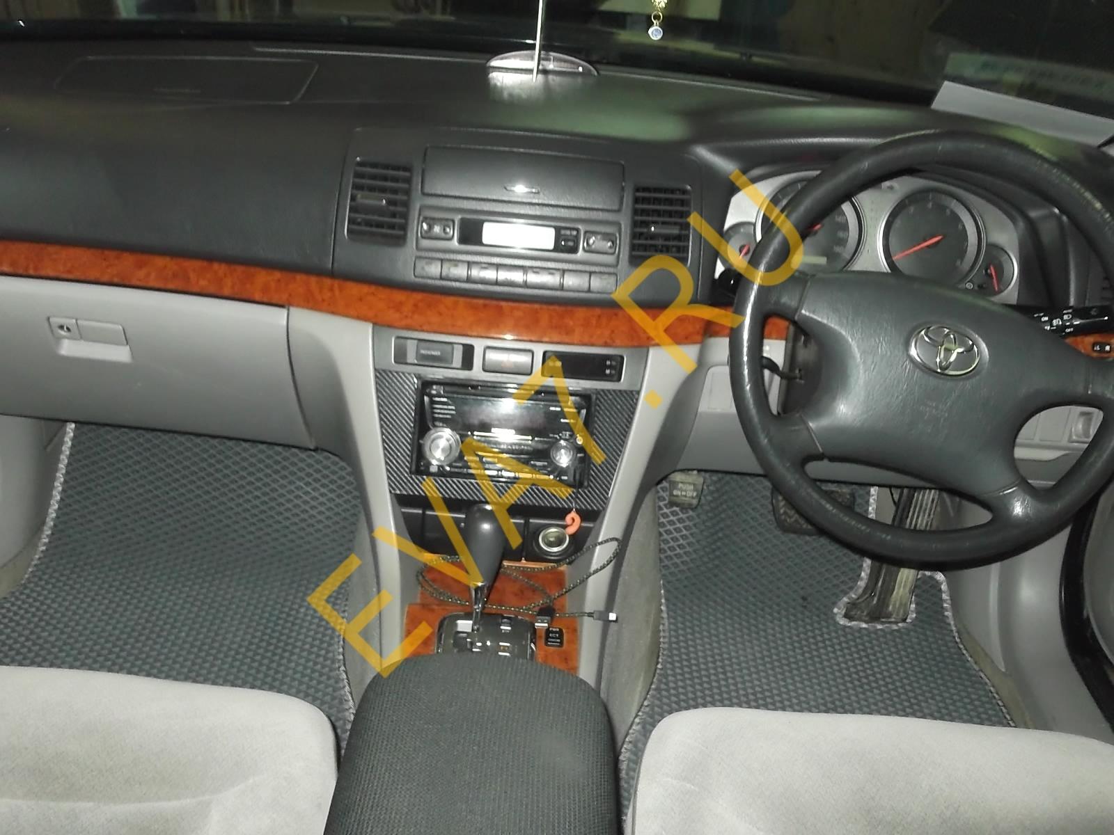 Коврики в салон Toyota Mark II (X110) правый руль 2000-2007