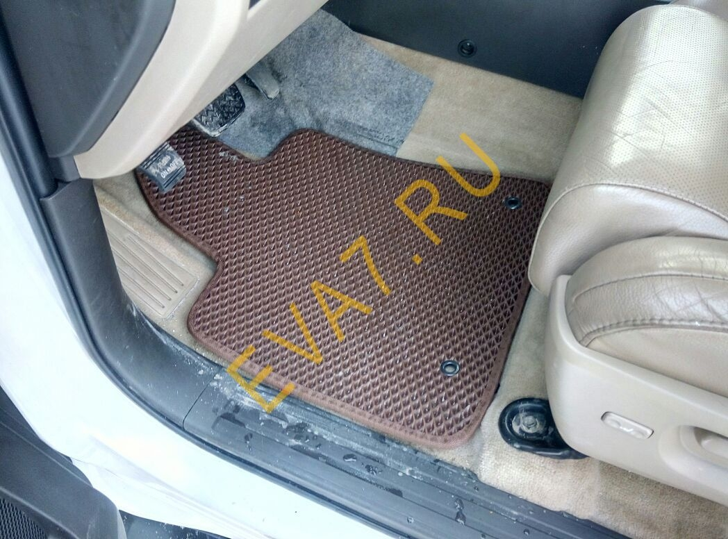 Коврики в салон Toyota Sequoia II 2008-2021