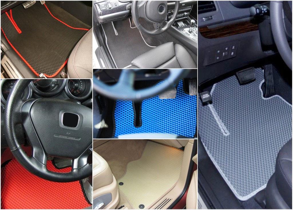 Коврики в салон Toyota Land Cruiser Prado 150 правый руль 2009-2013