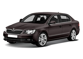 Коврик в багажник Skoda Superb II 2013-2015